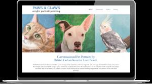 Website for artists