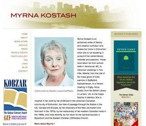 Myrna Kostash Before